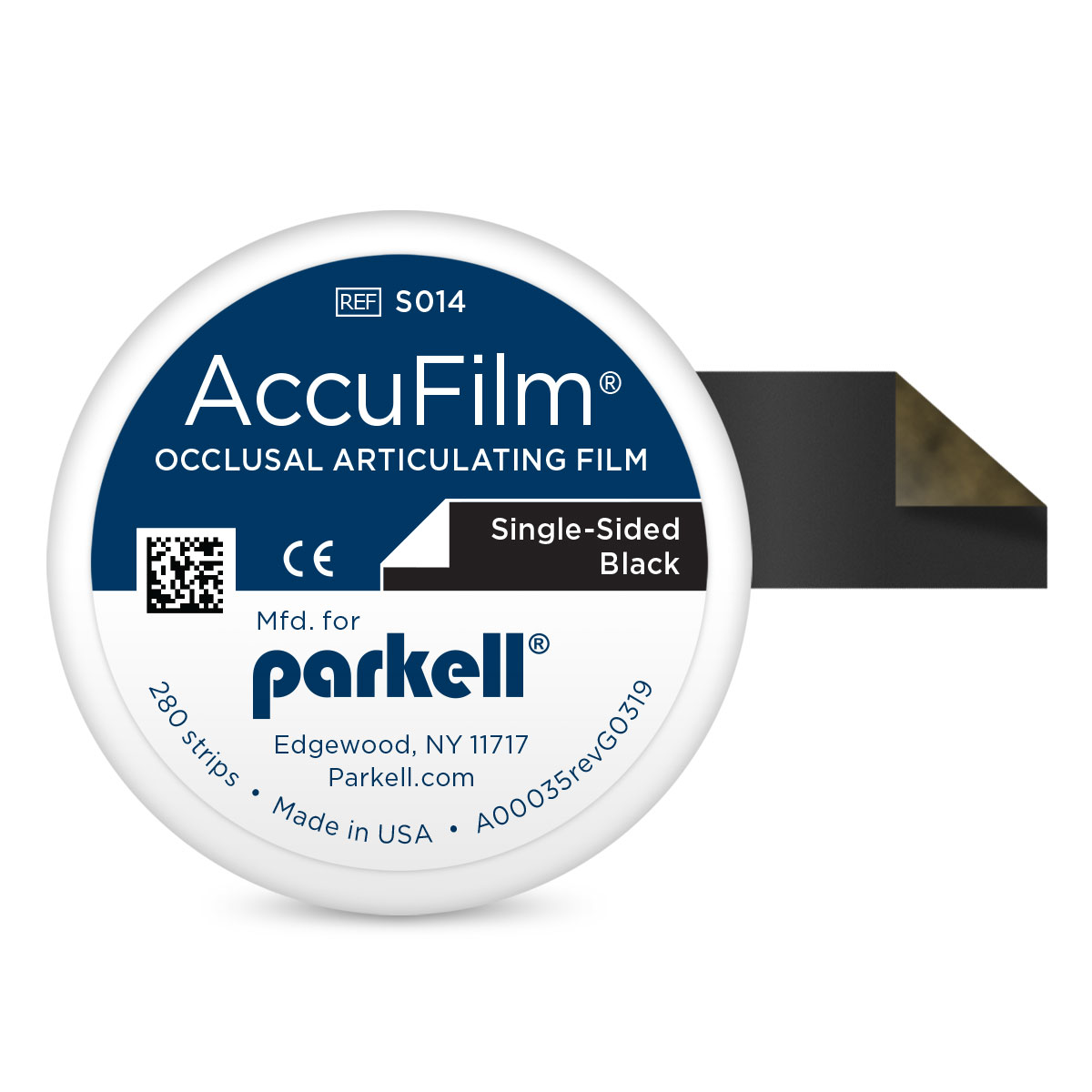 Black AccuFilm Single-Sided