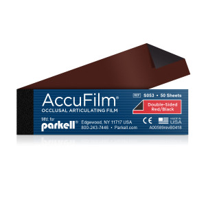 AccuFilm II Red/Black booklets